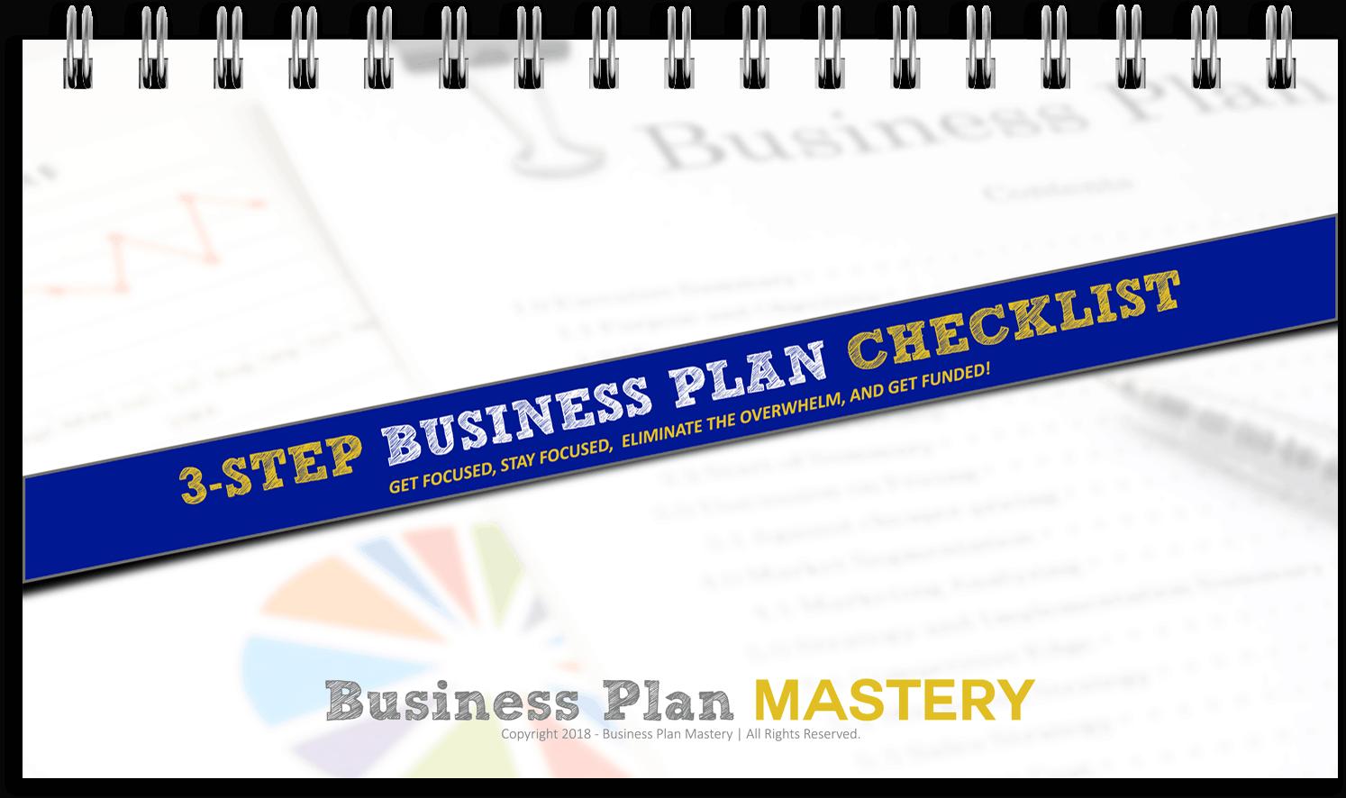 3-Step Business Plan Checklist