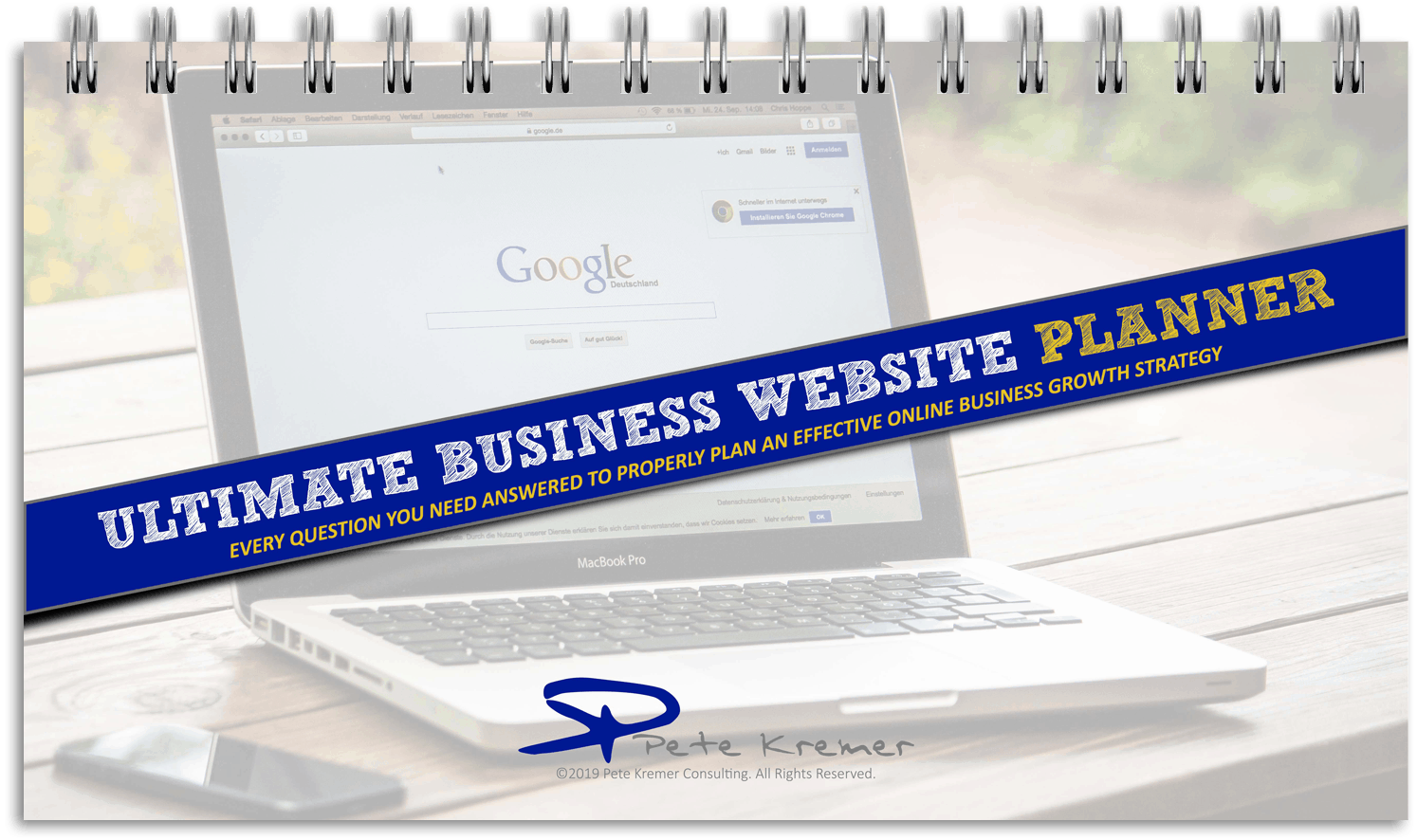 Ultimate Business Website Planner