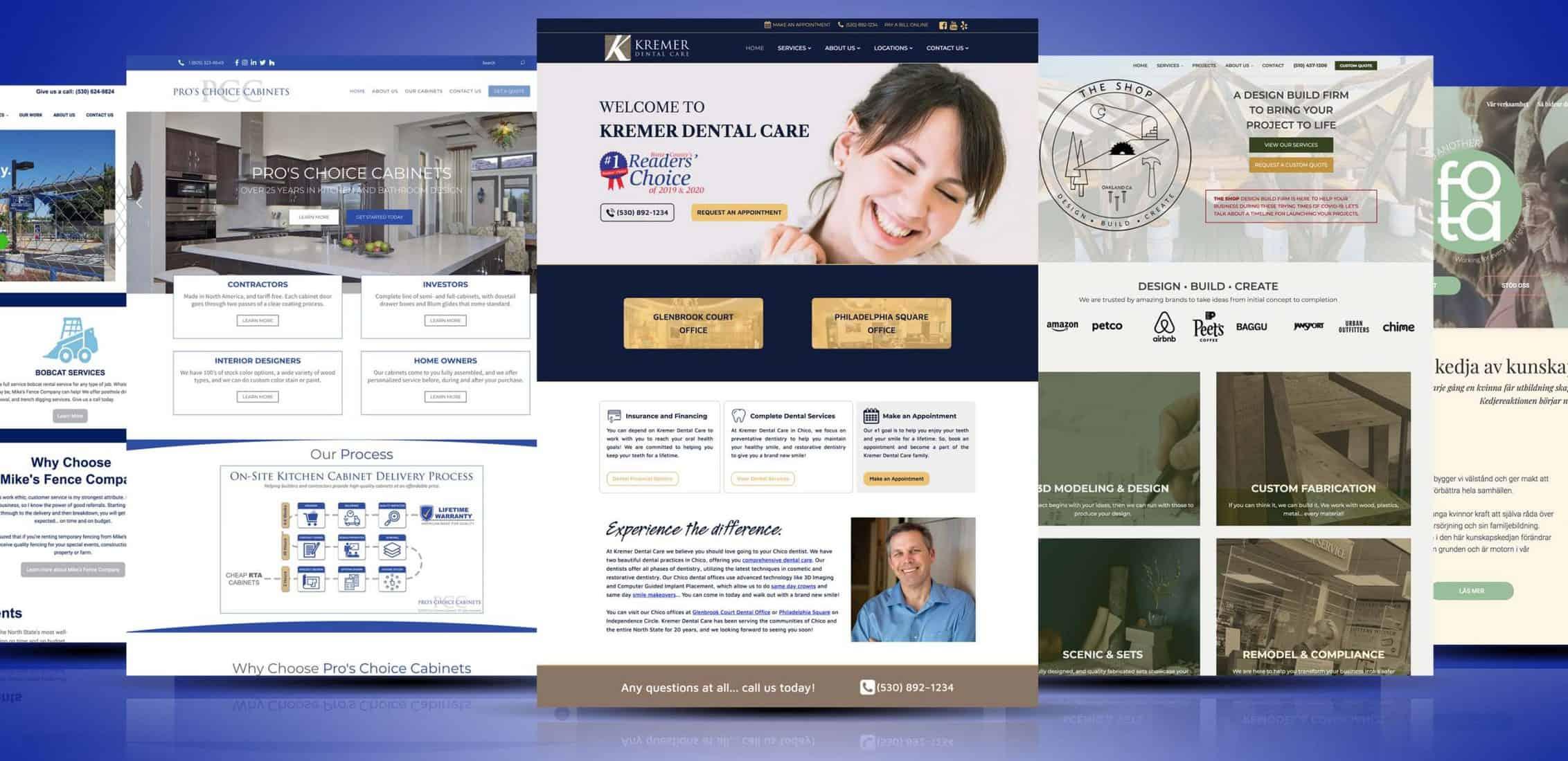 Small Business Website Portfolio